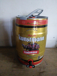 Barril De Cerveza 5 Lts. Vacío Marca Kunstman