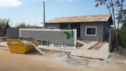 Casa À Venda, 70 M² Por R$ 340.000,00 - Mar Do Norte - Rio Das Ostras/rj - Ca1174