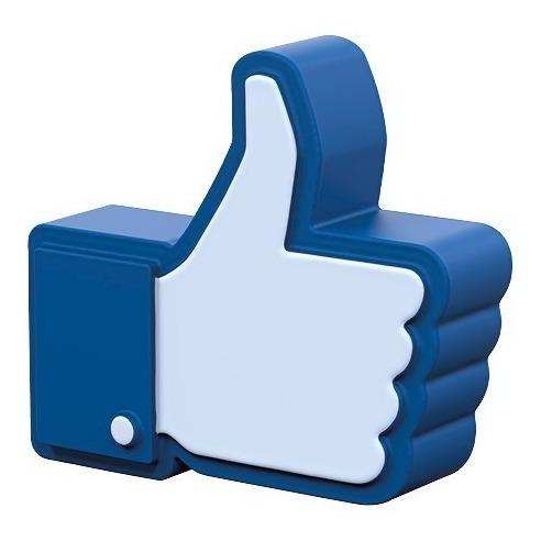 Figura Antiestres Facebook Like, Eventos, Serigrafia