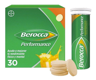 Berocca Performance 30 Comp Eferv Vitaminas Y Minerales