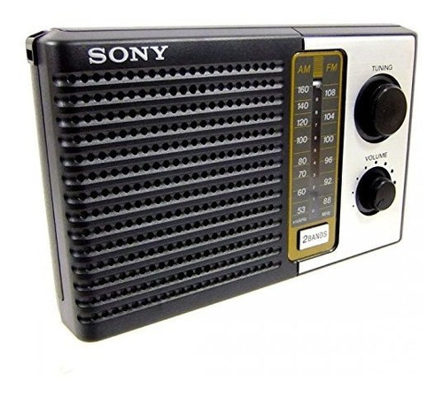 Sony Icf-f10 Radio De Transistor De Batería Portátil De 2