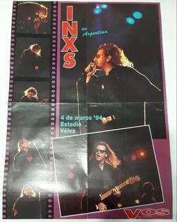Inxs Axl Rose Los Redonditos De Ricota Posters Revista Vos