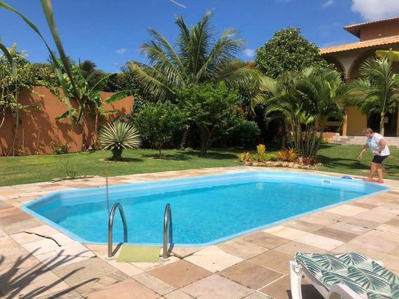 Casa Em Praia De Tabatinga, Nísia Floresta/rn De 375m² 3 Quartos À Venda Por R$ 479.000,00 - Ca366588