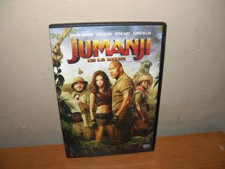 Jumanji En La Selva Dvd Original Usado Implecable