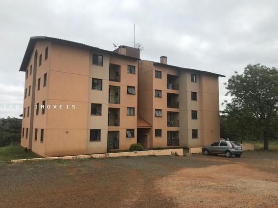 Apartamento Para Venda Em Ponta Grossa, Oficinas, 2 Dormitórios, 1 Banheiro, 1 Vaga - Montebell_1-984873