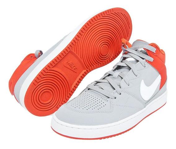 Tênis Ênis Nike Sportswear Priority Mid Cinza E Laranja