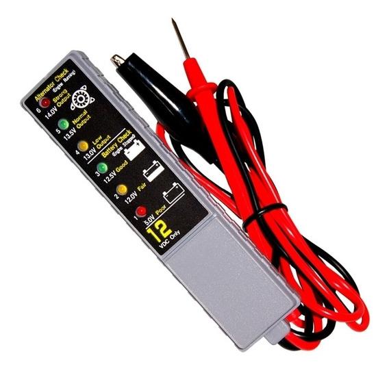 Teste De Bateria Alternador Automotivo Voltagem Profissional