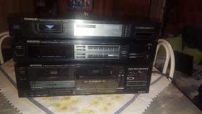 Vintage Kenwood Kx-95w Duplo Deck Stereo Cassete Deck Player