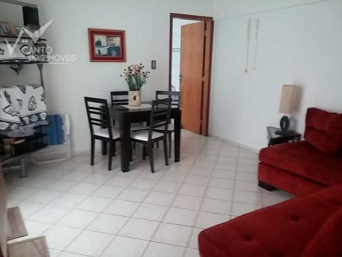 Imagem 1 de 11 de Apartamento Com 1 Dorm, Canto Do Forte, Praia Grande - R$ 220 Mil, Cod: 143 - V143