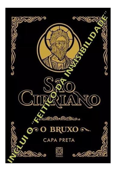 Livro São Cipriano O Bruxo Capa Preta Bruxaria Ocultismo