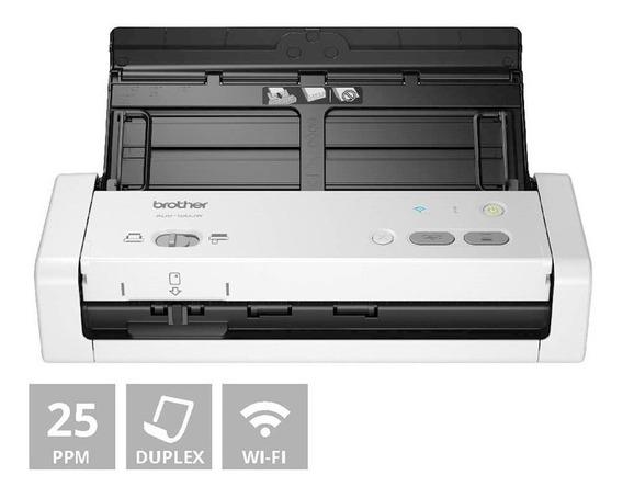 Scanner Portátil Brother Usb Wi-fi Ads-1250w Ads1250