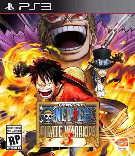 One Piece: Pirate Warriors 3 Ps3 (entrega Inmediata)