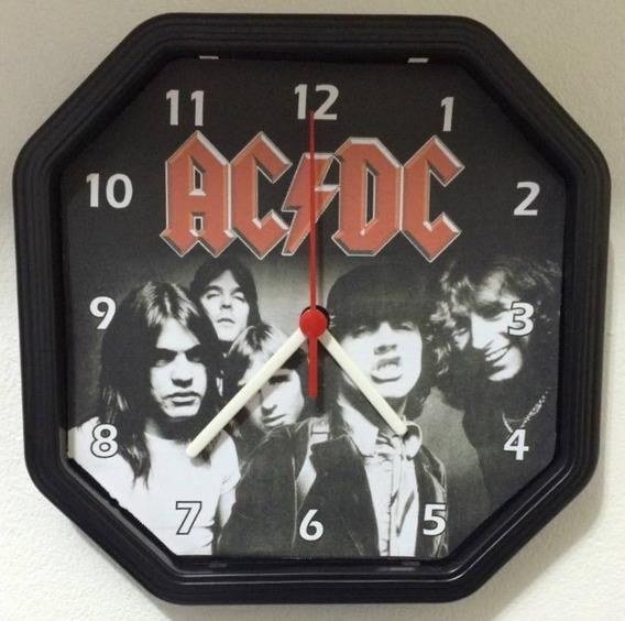 Relógio Personalizado Ac/dc