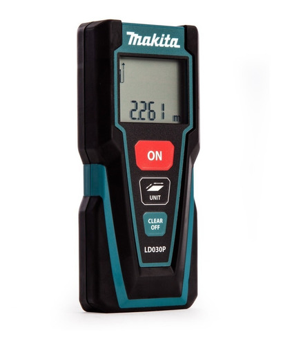 Medidor De Distancia Laser Makita 30 Metros Ld030p Mafacha