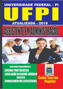 Apostila Ufpi -assistente Em Administração -2019