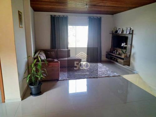 Casa Com 3 Dormitórios À Venda, 249 M² Por R$ 499.999,00 - Forquilhas - São José/sc - Ca0529