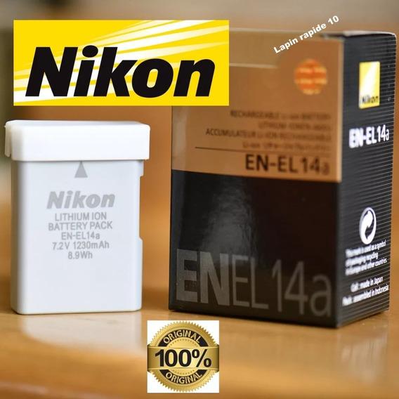 Bateria Nikon En-el14a So Original D3300 D5100 D5200 Na Caix