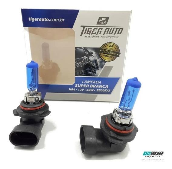 Par Lampada Super Branca Hb4 8500k Premium
