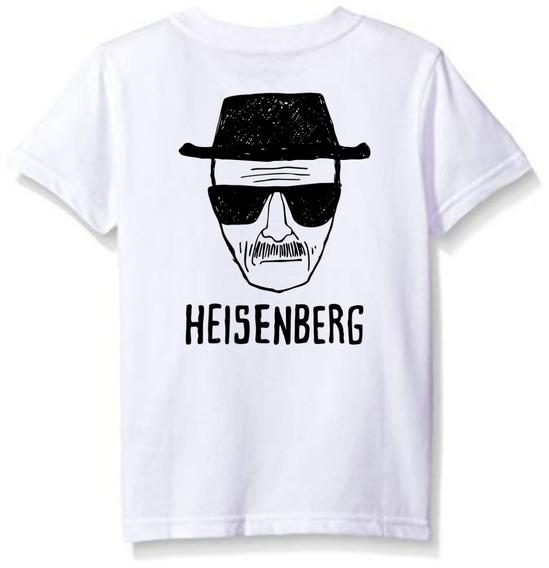 Playera Heisenberg Breaking Bad