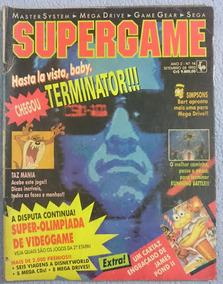 Revista Supergame Nº14 - 1992 - Raríssima!