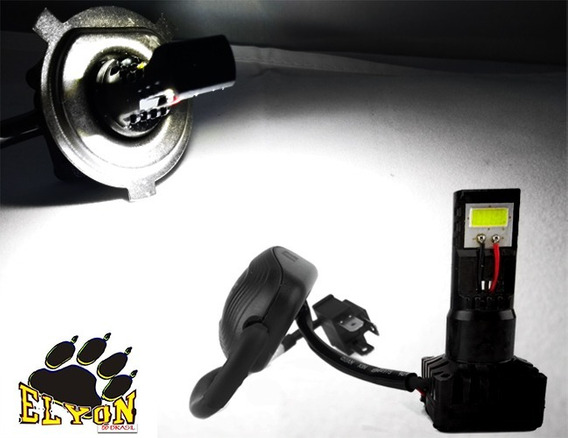Lampada 2 Led Farol Nxr 150 Bros Crypton / Neo 115 Bi Xenon