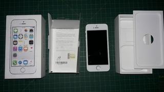 iPhone 5s 16gb Prateado Desbloqueado Tela E Bateria Novos