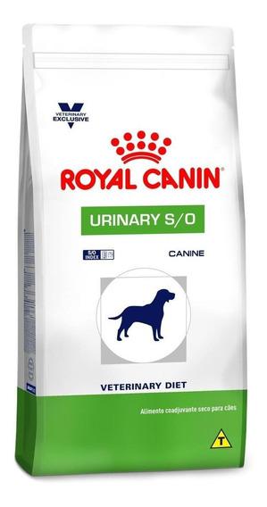 Ração Royal Canin Urinary S/O Veterinary Diet Canine cachorro raça média/grande mix 2kg