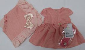 Kit Saida De Maternidade Bebê Menina Paraiso Coral Ref 6642