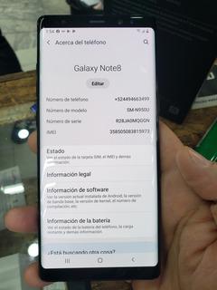 Celular Samsung Galaxy Note 8 64 Gb Usado