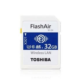 Cartao Memoria Toshiba Sdhc 32gb Flashair W-04 4k Wifi