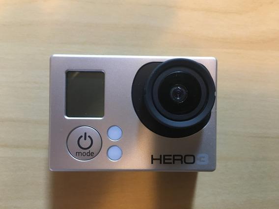 Gopro Hero 3 Silver Em Perfeito Estado.