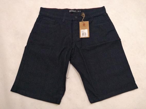 Bermuda Jeans Element Skate Walk Daily Original Azul Marinho