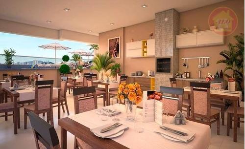 Apartamento À Venda, 46 M² Por R$ 207.000,00 - Parque São Vicente - São Vicente/sp - Ap4226