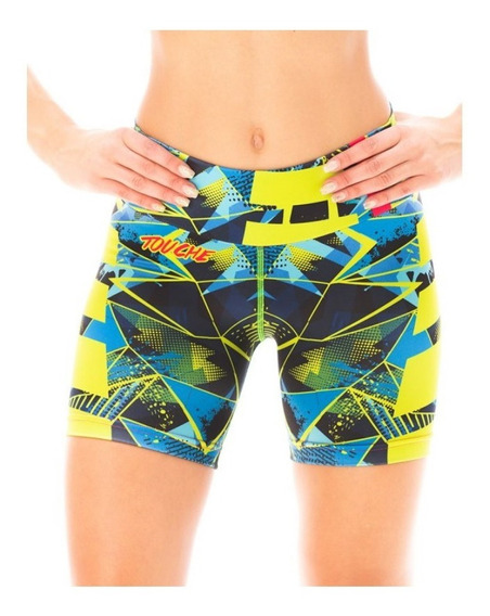Calzas Deportivas Mujer Short Touche Ropa S 71