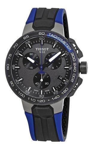 Relogio Tissot Novo T Race T111.417.37.441.06 Cycling Azul