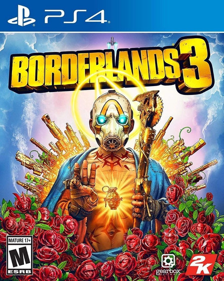 Borderlands 3 - Ps4 - Mídia Física