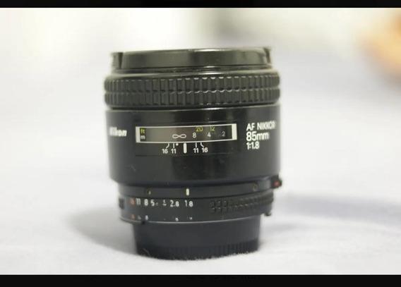 Lente Tamron 85mm - Nikon