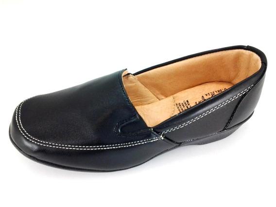Zapatos Para Mujer De Descanso Negro 2 Al 6