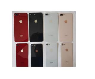 Tapa Trasera Con Lente De Cristal iPhone 8 & 8 Plus Original