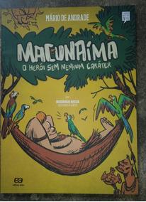 Livro Macunaíma Em Quadrinhos - Mário De Andrade