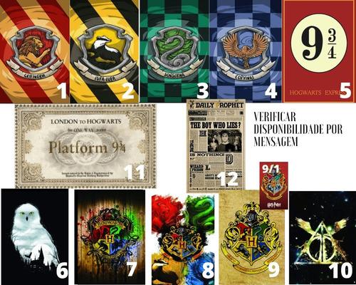 Placas Decorativas Harry Potter