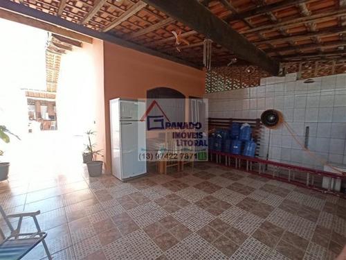 Imagem 1 de 15 de Casa Para Venda Em Mongaguá, Balneário Samas, 2 Dormitórios, 1 Suíte, 1 Banheiro, 2 Vagas - 662_1-1337291