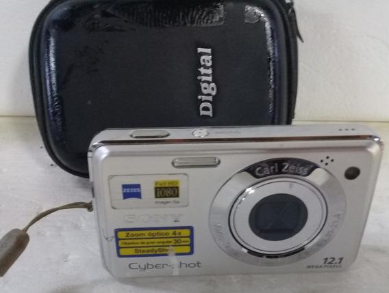 Maquina Fotográfica Sony Ciber Shot 12.1 Mega Pixls Lhd1080