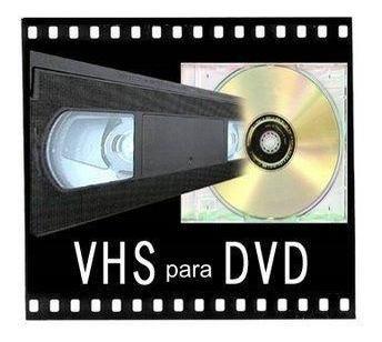 Passo Fita Vhs Para Dvd Por Apenas