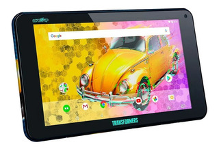 Tablet Level Up Transformers Android Bluetooth 7 Cuotas