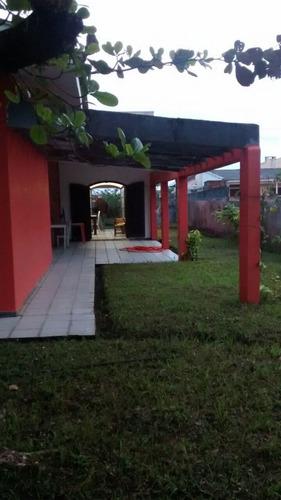 Imagem 1 de 12 de Casa Com 3 Dormitórios À Venda Com 156.4m² Por R$ 250.000,00 No Bairro Marissol - Pontal Do Paraná / Pr - Mtc-002