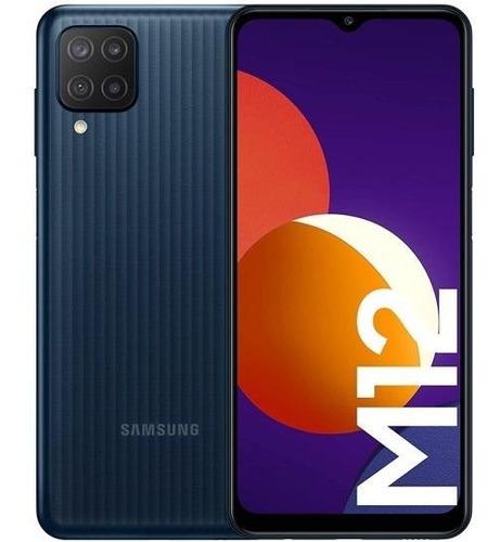 Celular Samsung Galaxy M12 Negro 32gb Dual Sim 3gb Ram
