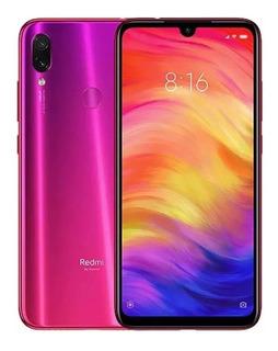 Celular Xiaomi Note 7 3gb 32gb Nebula Red Rosa + Película