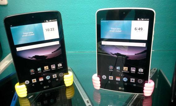 Tablet Lg-lk430 Sim-micro-sd 8gb 7 Pulg + Garantía Hard