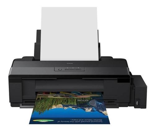 Impressora a cor Epson EcoTank L1800 110V/220V preta